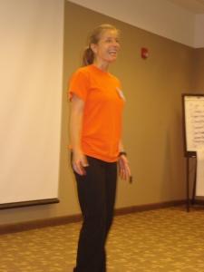Master Trainer Lisa Hellems leads fantastic demonstration