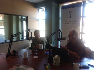 Talking Michigan business with Tom Crawford on Marketing Monday on the Michigan Business Network.com