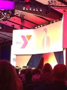 Malcolm Gladwell addresses the YMCA General Assembly