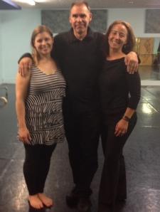 Choreographer Missy Lilje, Composer Dan Combs, and me!