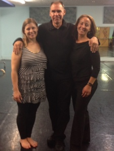 Choreographer Missy Lilje, Composer Dan Combs, and me!