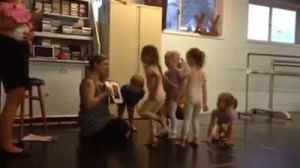 Missy teaches creative movement with Gabustle