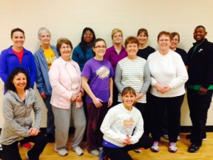 Congratulations Enhance®Fitness Instructors!