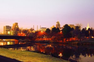 lansing__michigan_skyline__by_adeimantus-d5lcnek